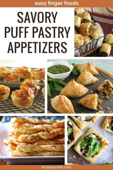 23 Puff Pastry Appetizers [Easy and Fast To Make] #frozenpuffpastry