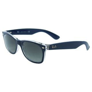 cf34cf4dc39 Ray-Ban RB2132 New Wayfarer sunglasses are durable and trendy. The grey  gradient lenses