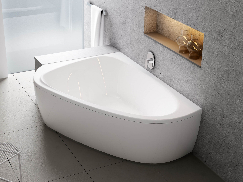 Raumsparbadewanne 195 X 140 Cm Schurze Badewanne Badezimmer Und Wohnung Badezimmer