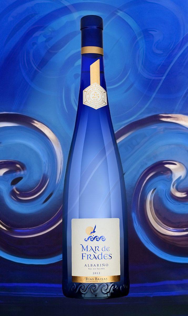 Vino Blanco Mar De Frades Botellas De Vino Vino Albarino Y Vino