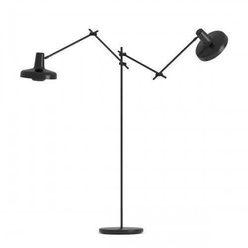 Lampa Podlogowa Arigato 2 Czarna Grupa Products Lamp Decor Home Decor