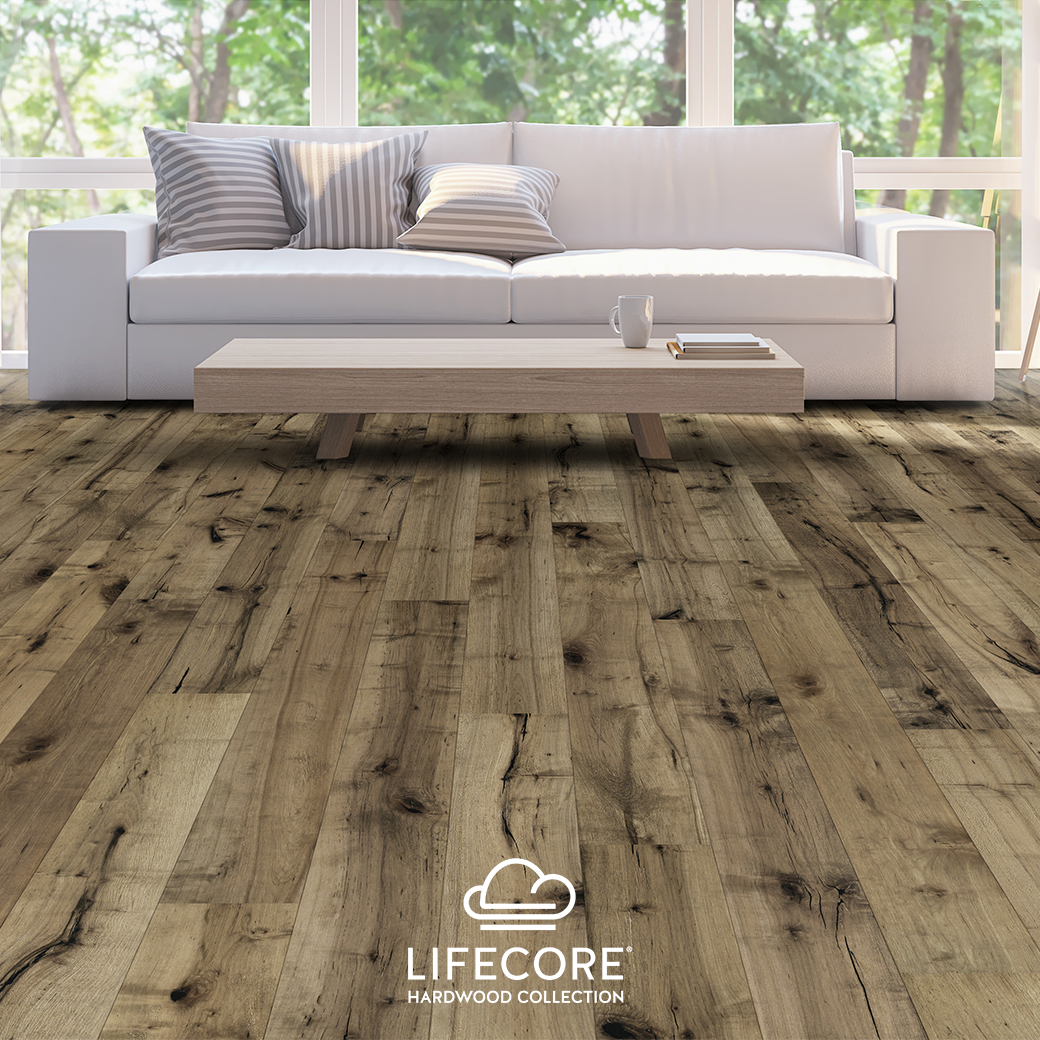 Always Wanted A Patina Look For Your Hardwoods Lifecore Reactive Engineered Wood Floors Are As Affordable As They Are Beautiful Engineered Hardwood Flooring Engineered Wood Floors Hardwood Floors