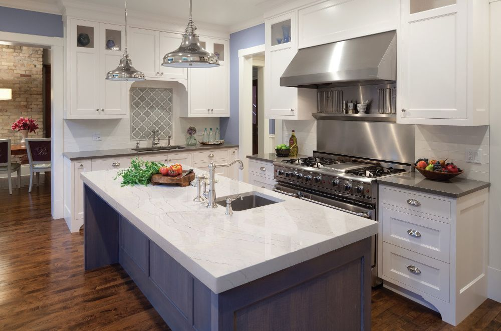 Whether You Re Dreaming Of A Sparkling All White Kitchen With Pristine Countertops A Outdoor Kitchen Countertops Kitchen Remodel Replacing Kitchen Countertops