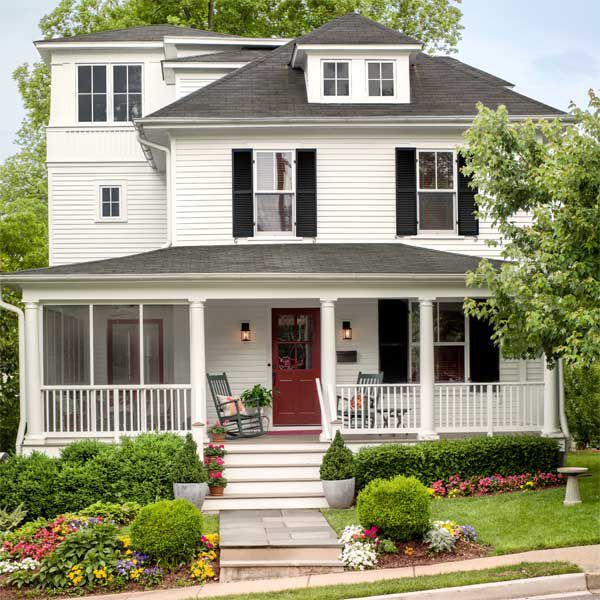 Room at the Top for a Classic American Foursquare