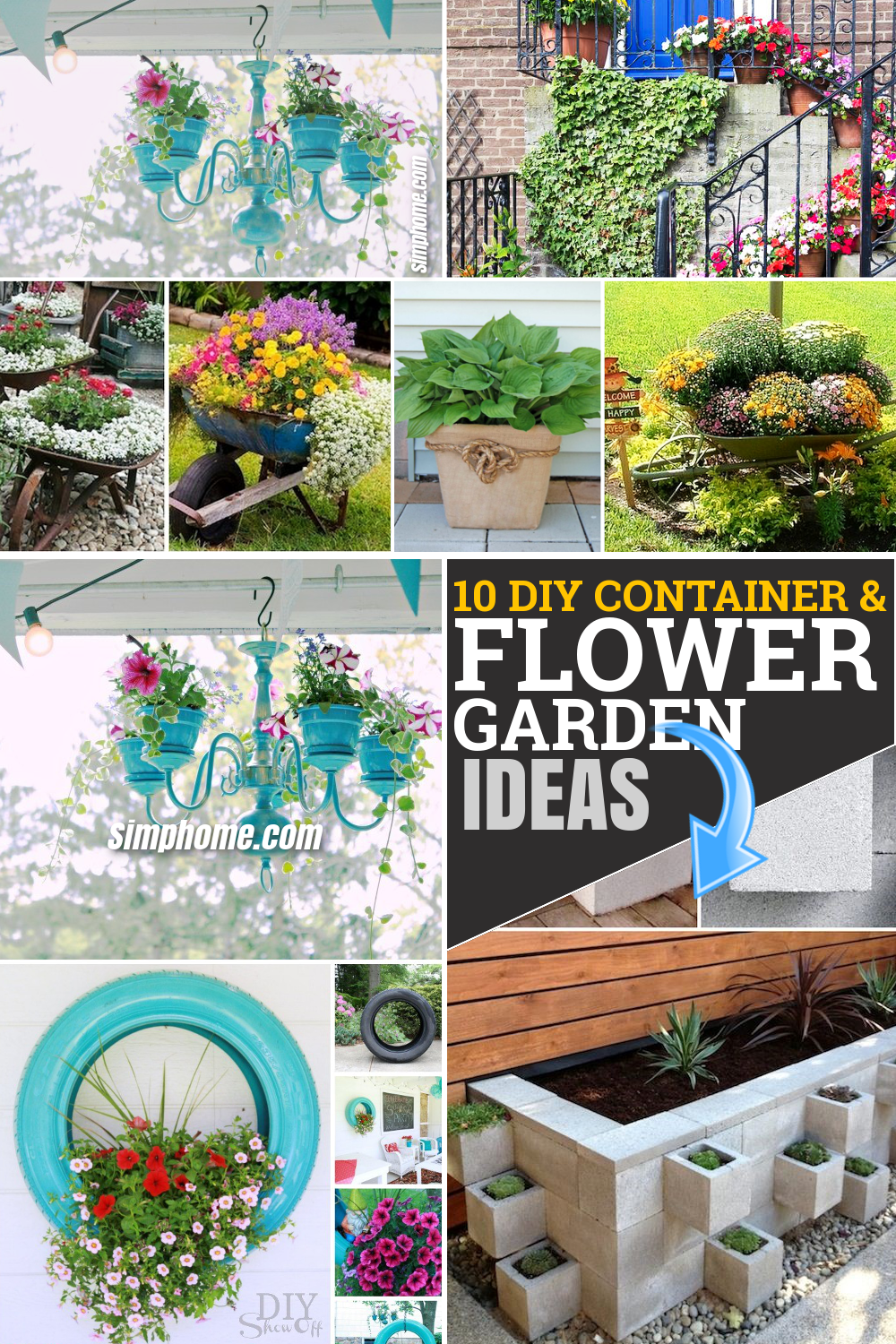 40 Diy Flower Garden Planter And Container Ideas Simphome Raised Beds Flowers