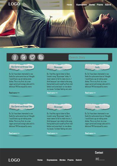 Personal Page Free WordPress Theme FreeWordPressTheme Freetemplatesonline Templates 500