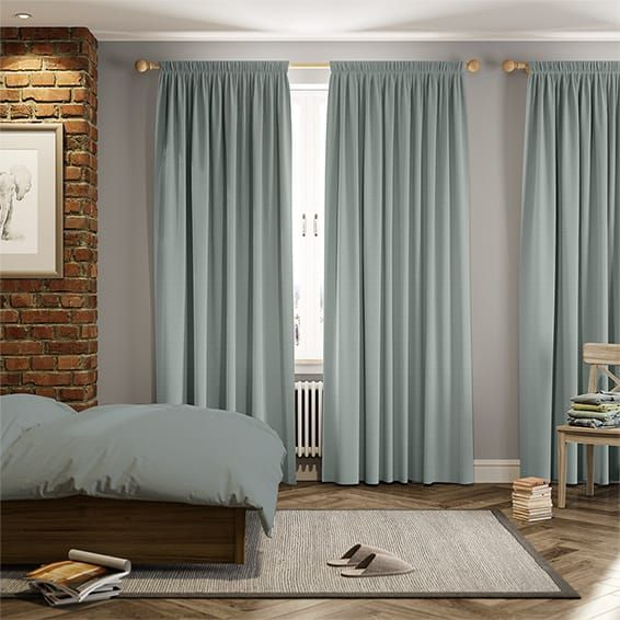 Penrith Duck Egg Curtains Duck Egg Blue Living Room Duck Egg Curtains Taupe Curtains