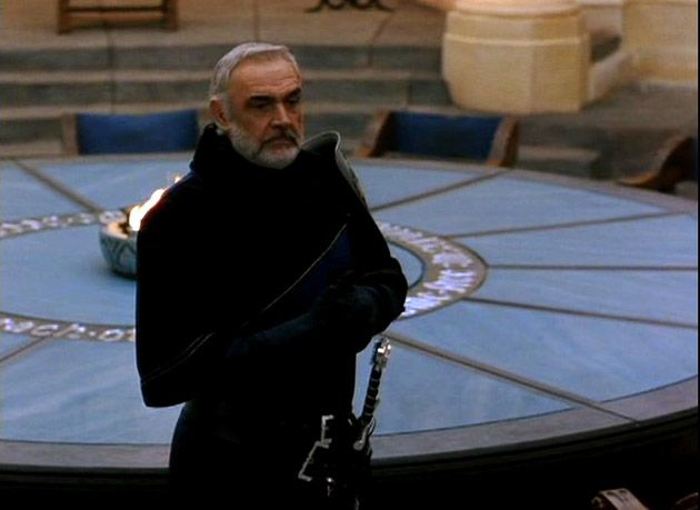 Arthur And The Round Table Sean Connery First Knight