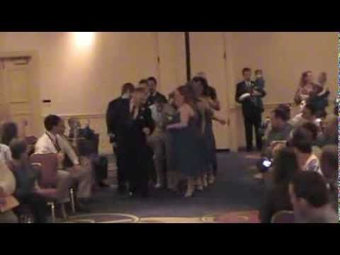 Autumn And Alex Croft Wedding Ceremony Dance Down The Isle With Song Forever By Chris Brown
