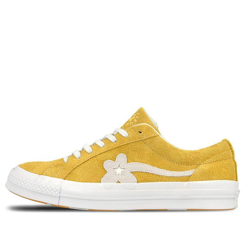 6b4e11ec770a79 Converse X Golf Le Fleur One Star One Star X Golf Le Fleur - Yellow  (160323C)