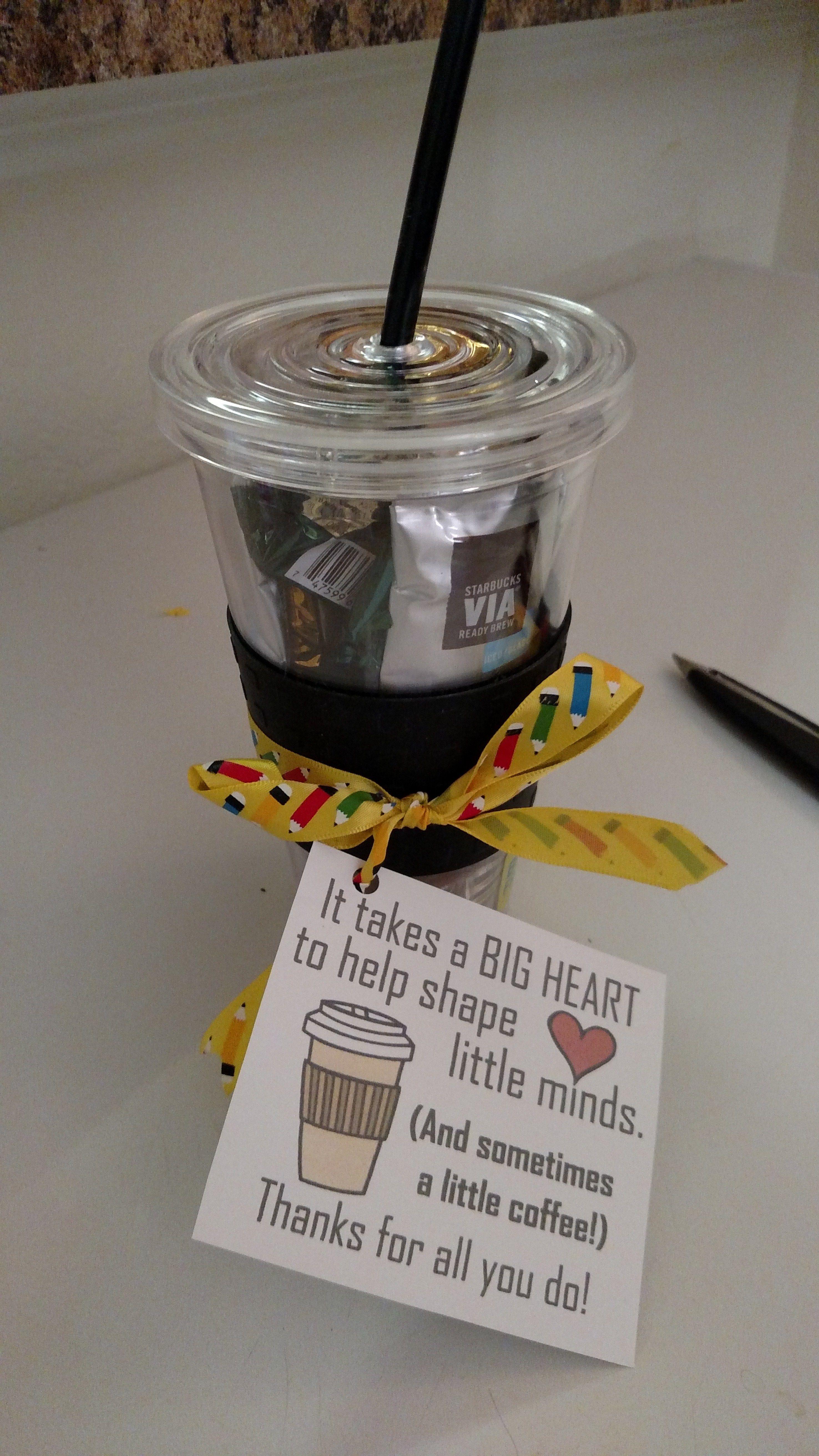 Cheap and Easy Teacher Gift … Easy teacher gifts