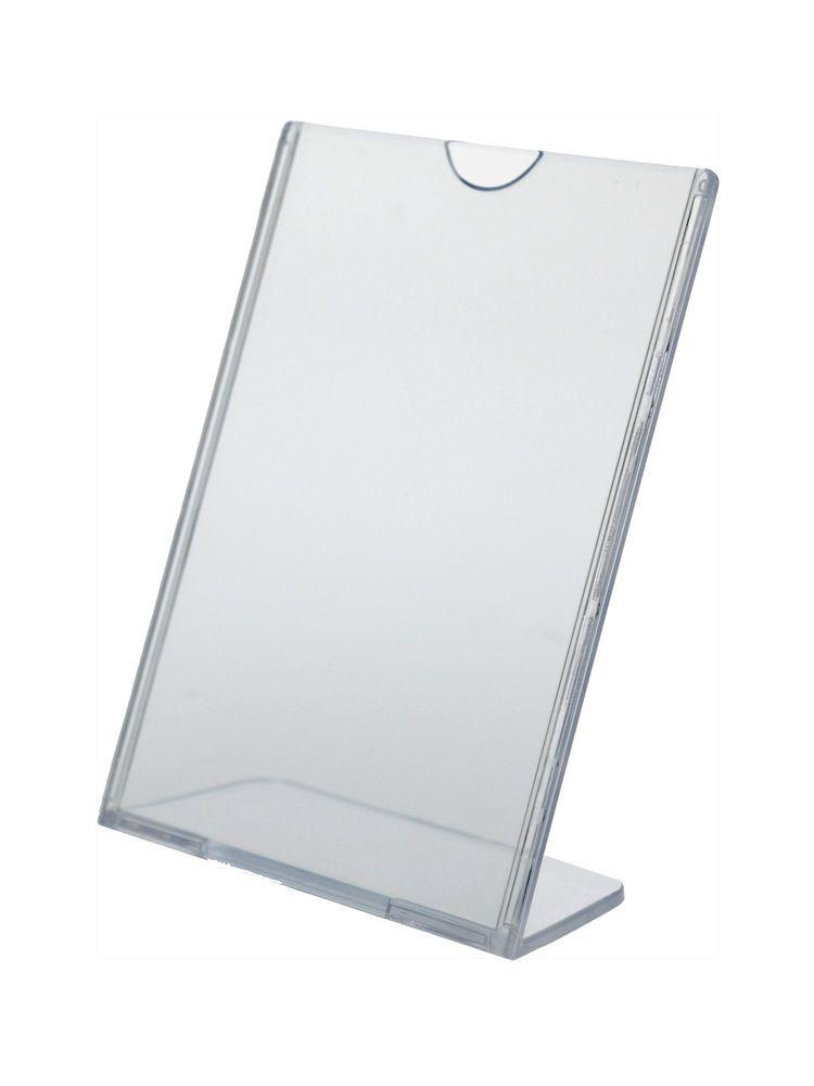 Flyer Frame Stand 4 X 6 Table Tent Tru Vu Ad Frame Brochure