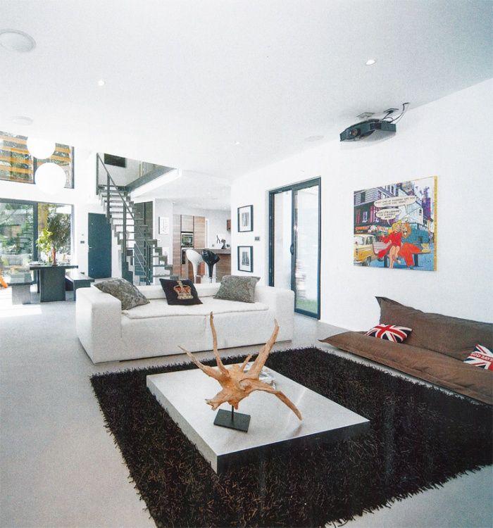id e luminaire vide sur s jour maison empty et salons. Black Bedroom Furniture Sets. Home Design Ideas