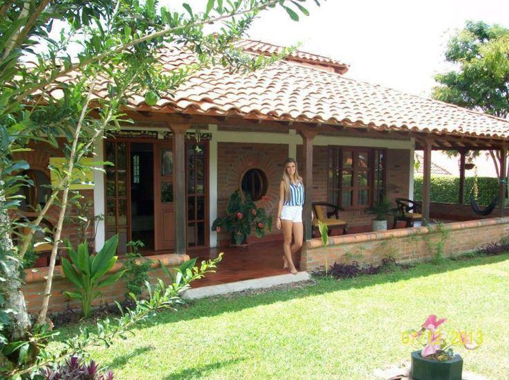 Resultado de imagen para fachadas de casas de campo for Jardines de casas rusticas