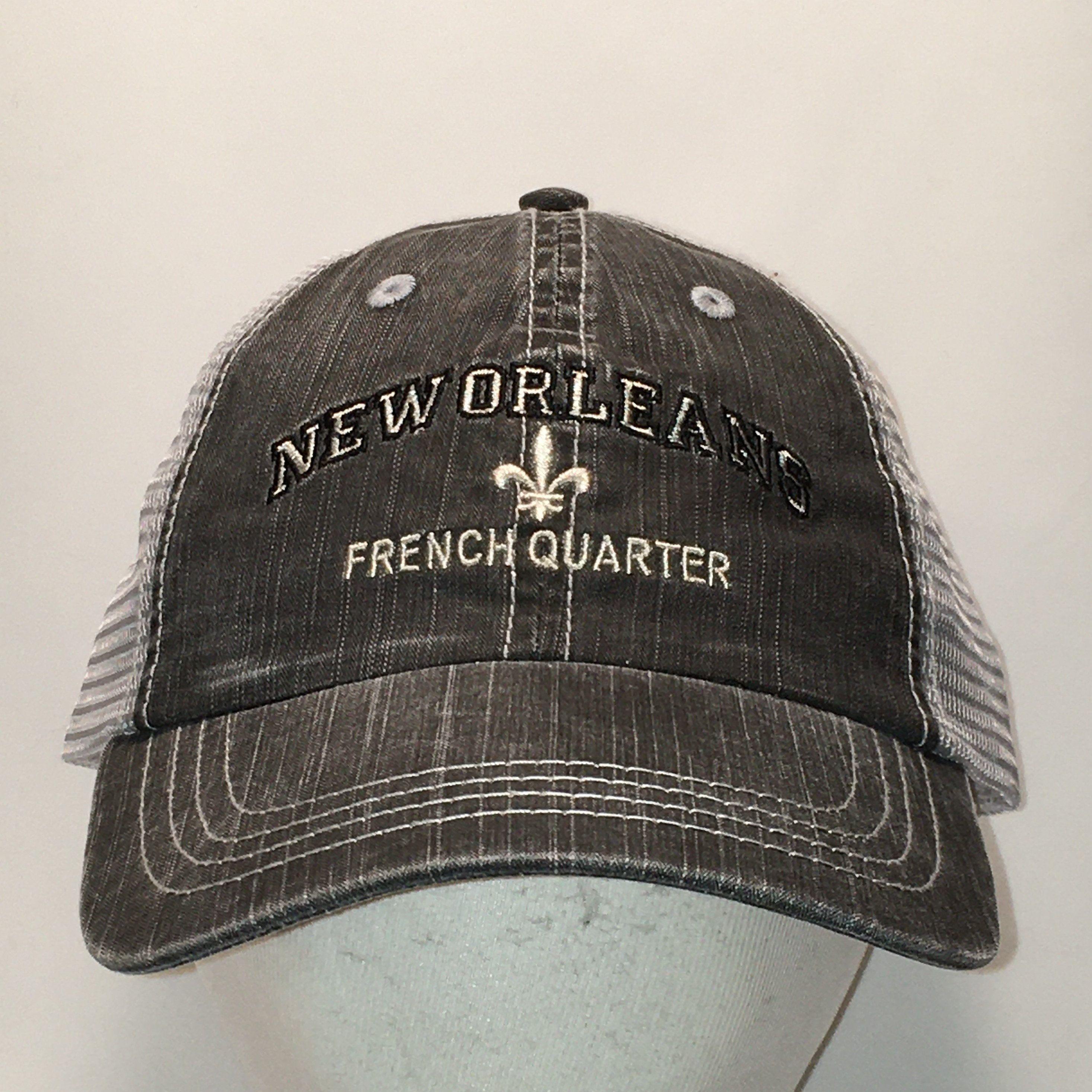 Vintage New Orleans Hat French Quarter Baseball Cap Dad Hats Etsy Hats For Men Best Gifts For Men Dad Hats