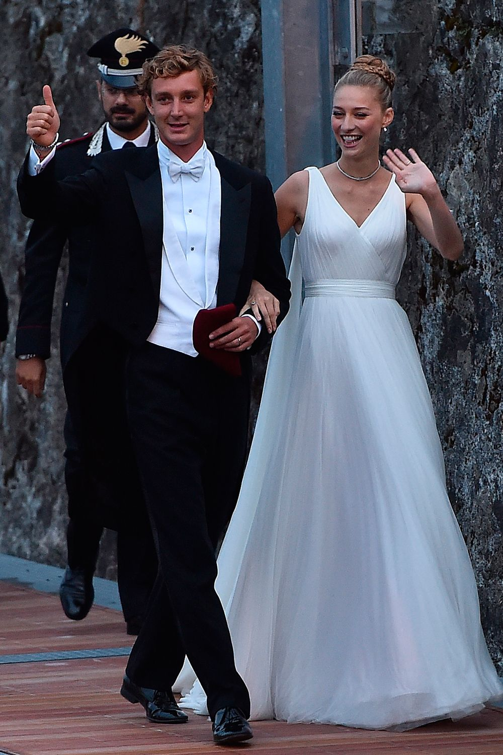 Beatrice Casiraghi wears Armani for second wedding