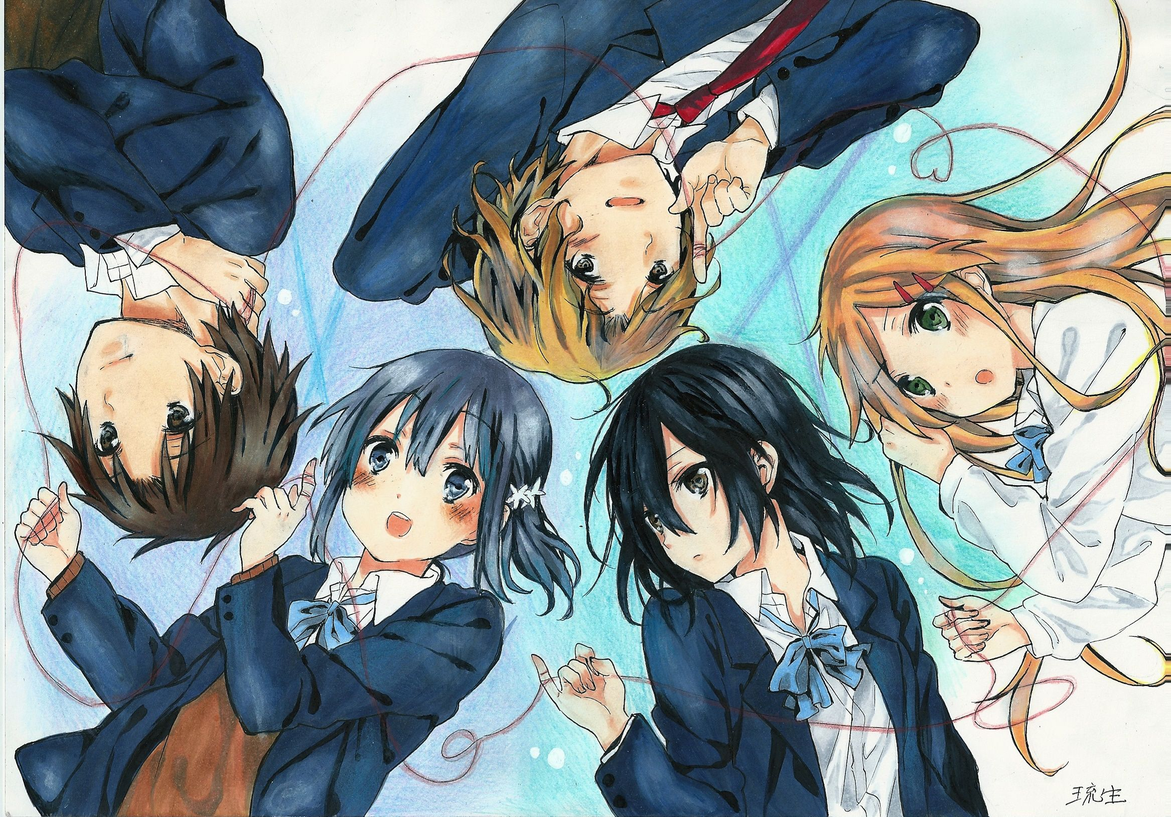 1000  images about Kokoro Connect on Pinterest | Friendship ...