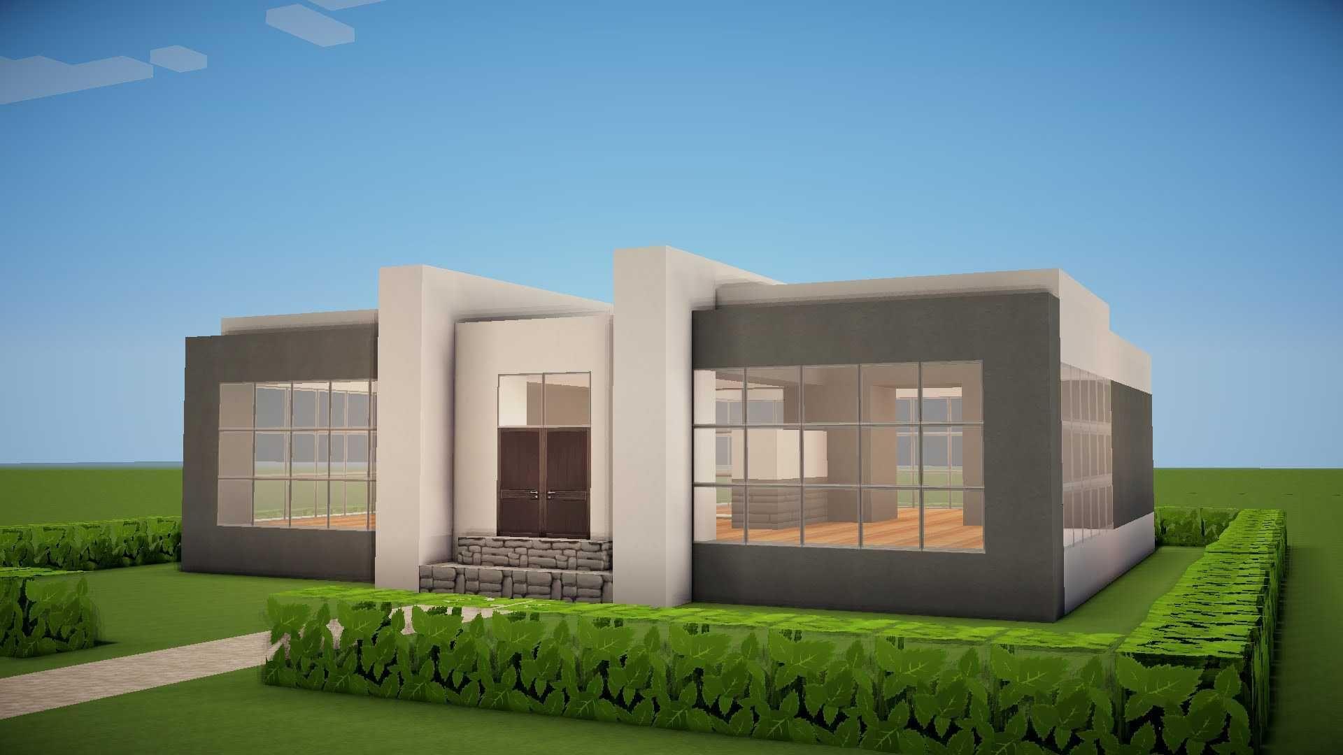 Minecraft Small Modern House