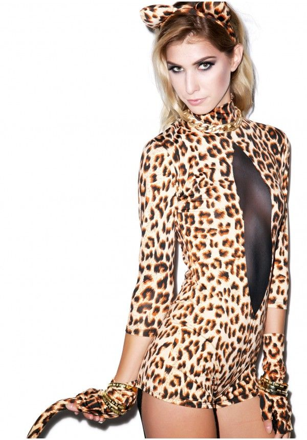 Sexy leopard costumes