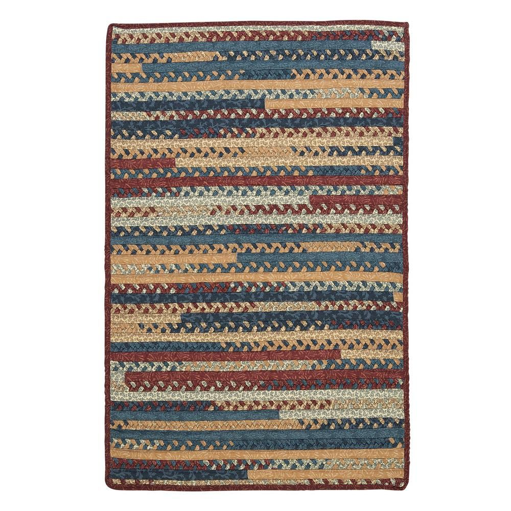 Home Decorators Collection Hearth Rectangular Summer 2 Ft X 11 Ft Braided Runner Rug Braided Area Rugs Area Rugs Rugs