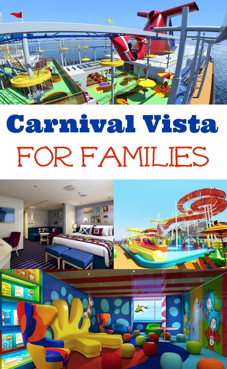 Cheap All Inclusive Family Vacation: Carnival Vista For Families
