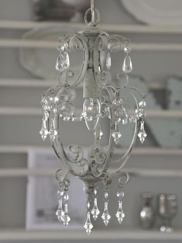 Hochwertig Kronleuchter Im Shabby Stil | EBay. Antique ChandelierChandeliersShabby Chic  ...