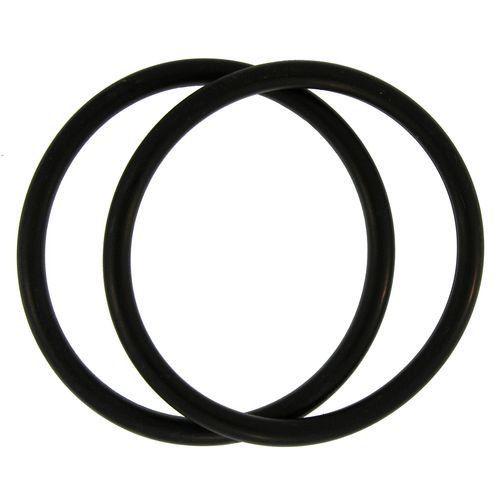 Set Of 2 Thick Vintage Rubber Bracelets In Black 5 99 Save 70 Off