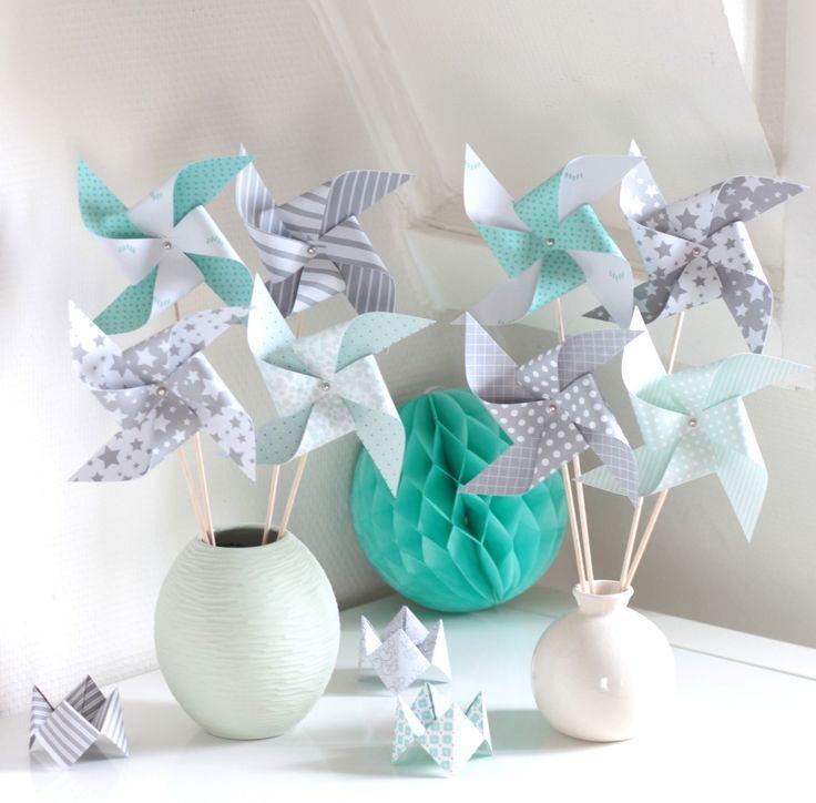 Craquez sur la couleur romarin cette ann e avec notre for Accessoire de decoration maison