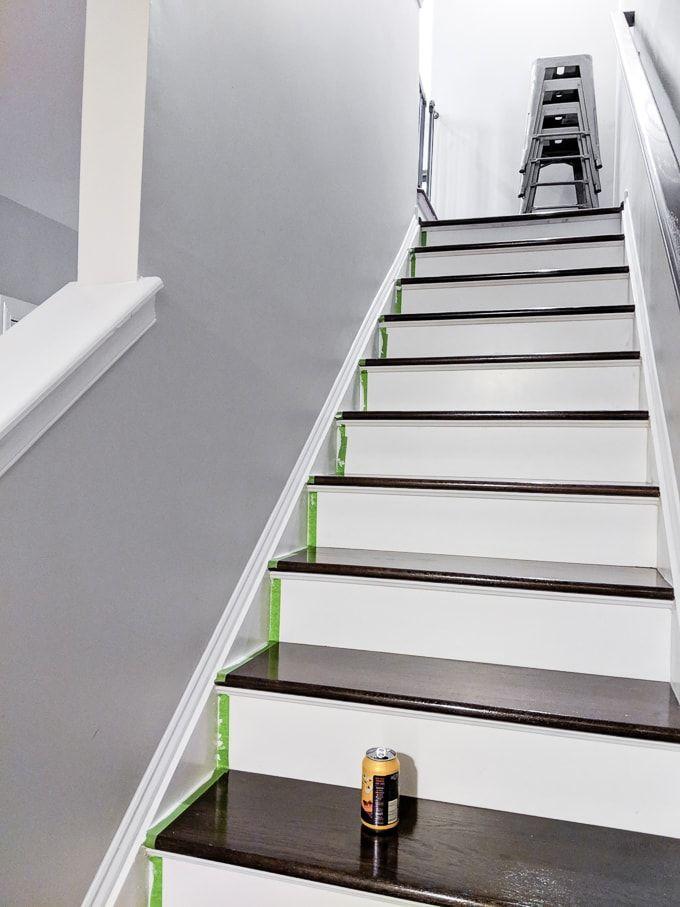 How To Caulk Hardwood Stairs Amp Repair Cracked Stair