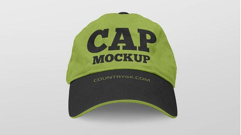 Download Free Set Of Cap Mockups Free Mockup Mockup Cap