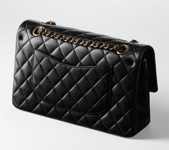 Chanel Classic Flap Bag Rear View