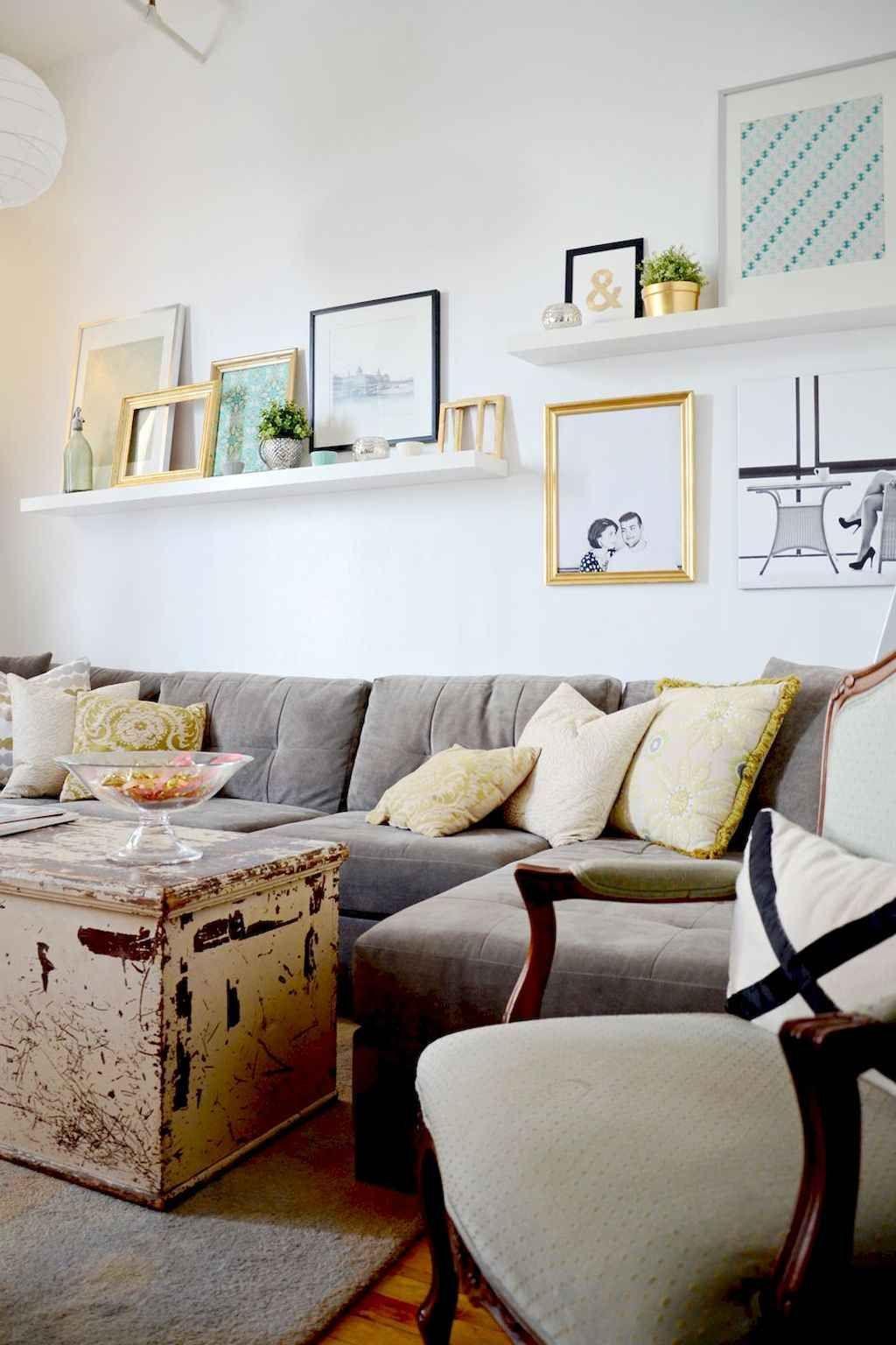 50 Diy Floating Shelves For Living Room Decorating Gladecor