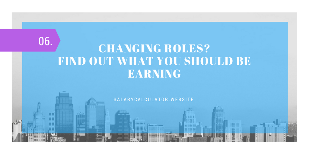 We take the guess work out of changing jobs. Find your salary here and change jobs with ease.