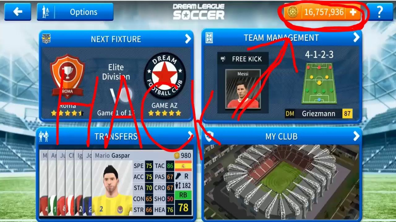 How To Hack Dream League Soccer 2019 Android And Ios