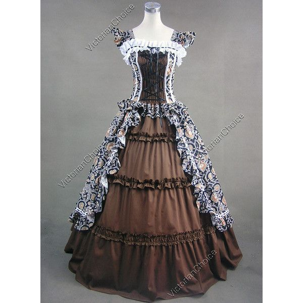 Victorian brown dress and other apparel, accessories and trends. Browse and shop related looks.