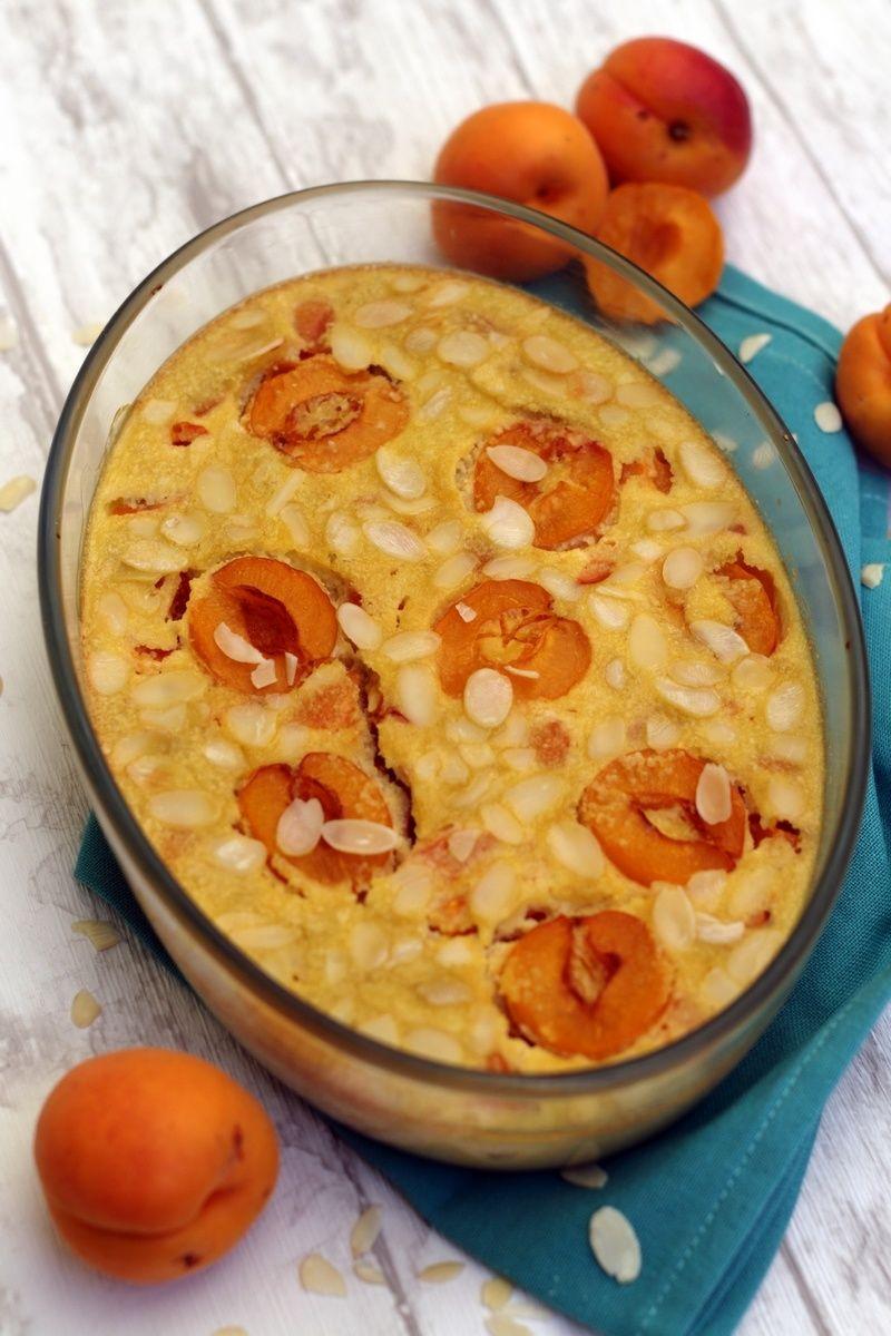 Clafoutis aux abricots et amandes (sans lactose)