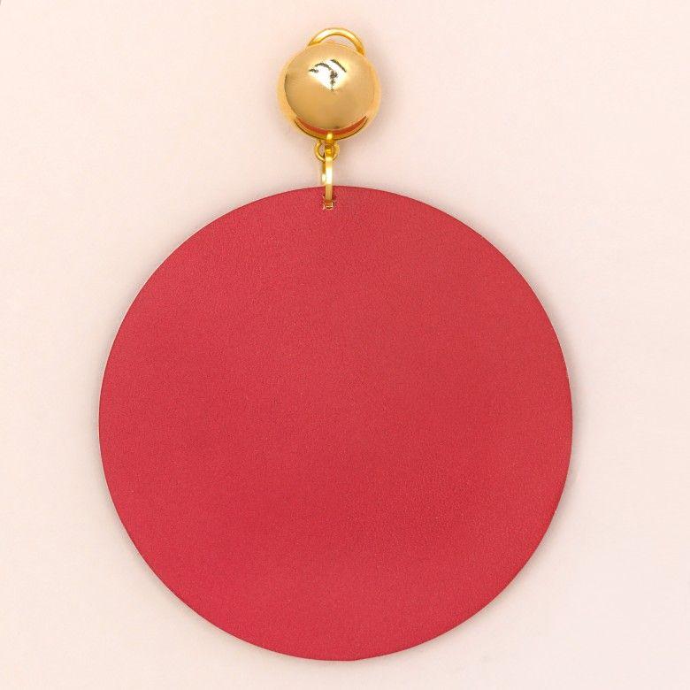 METRICA INTERIOR CIRCLE RED