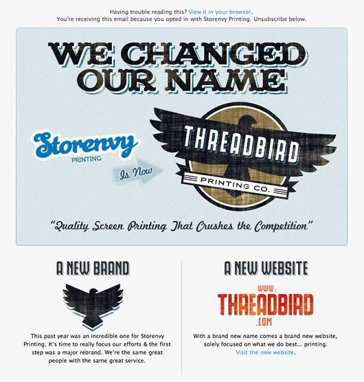 Company Name Change / Contact Info Change Best Practices | Content