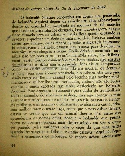 """João Ubaldo Ribeiro, in """"Viva o Povo Brasileiro"""", Círculo do Livro, 1984. P. 44"""