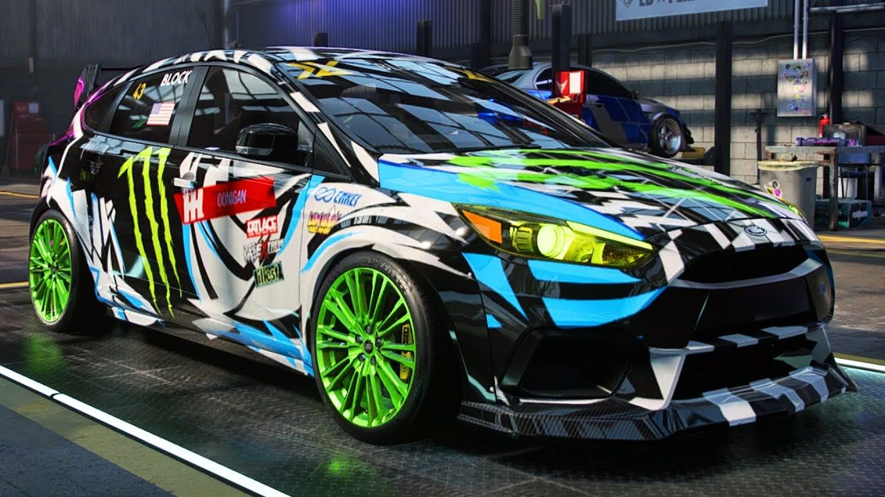 Rally Ford Focus Rs Build Need For Speed Heat Part 64 In 2020 Ford Focus Rs Ford Focus Focus Rs