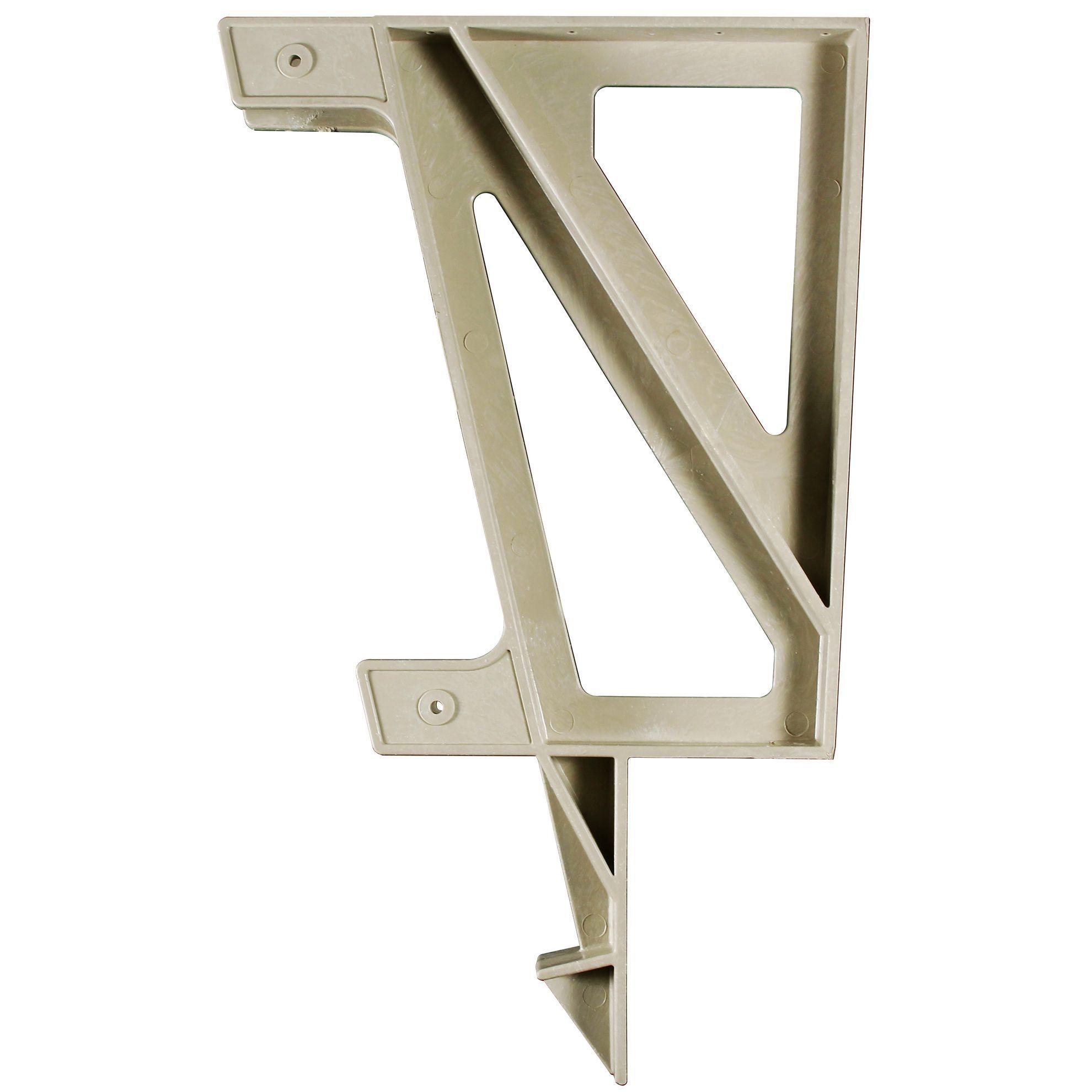 Hopkins   F3 Brands 90166 Sand Deck Bench Bracket (Bench Bracket Snd), Beige