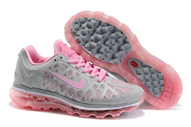 promo code cc17e 1071a Womens Nike Air Max 2011 Grey Pink Sneakers  Lovely  pink  products cheap  nike shoes