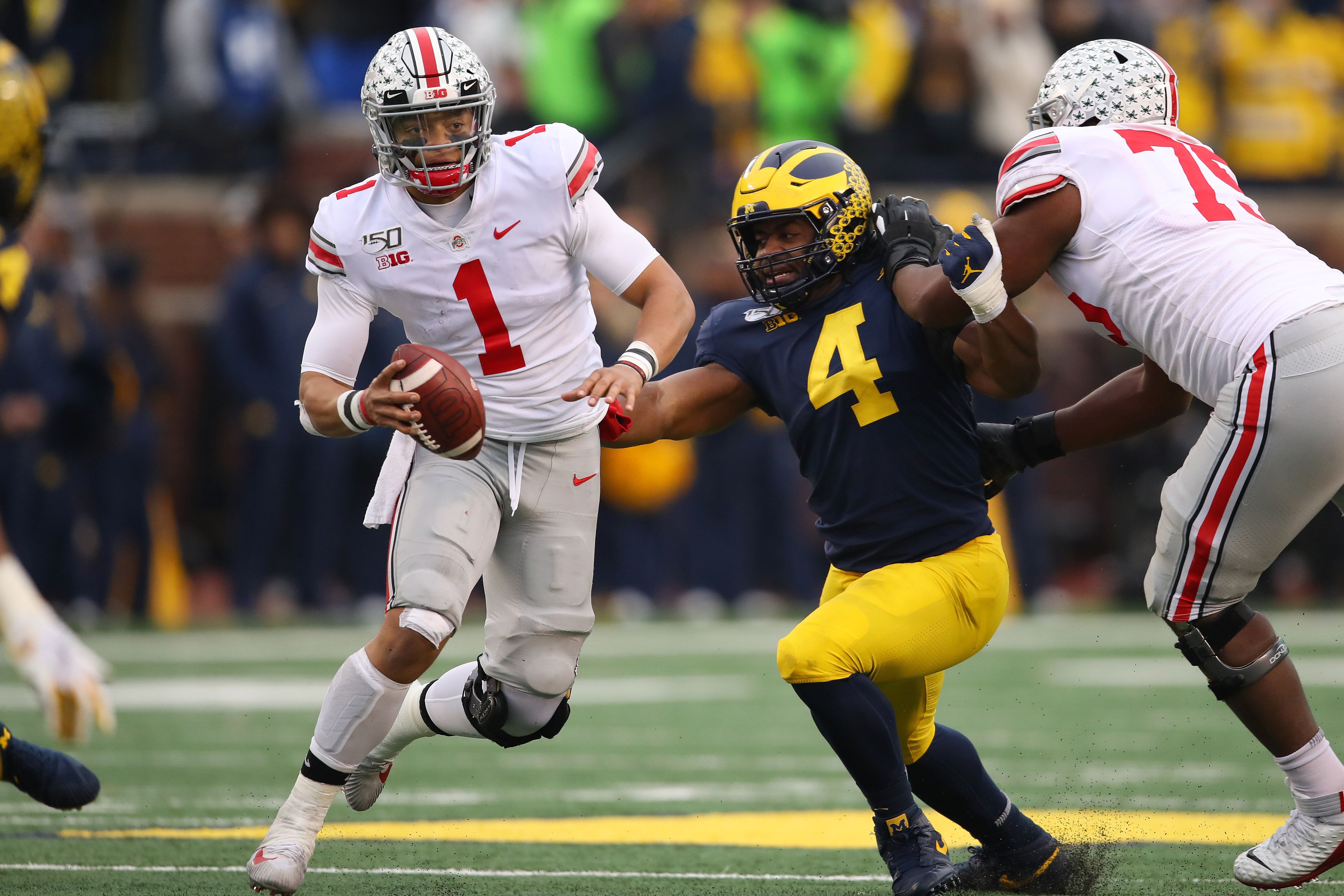 Justin Fields Has 'Heisman Moment' in Ohio State's Win