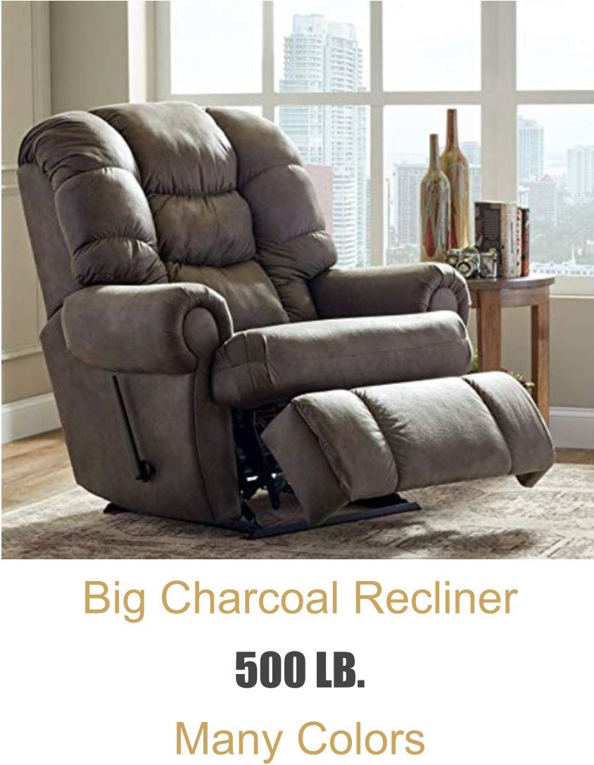 BEST SELLING Big, brown, heavy-duty chairs in 4  Living room