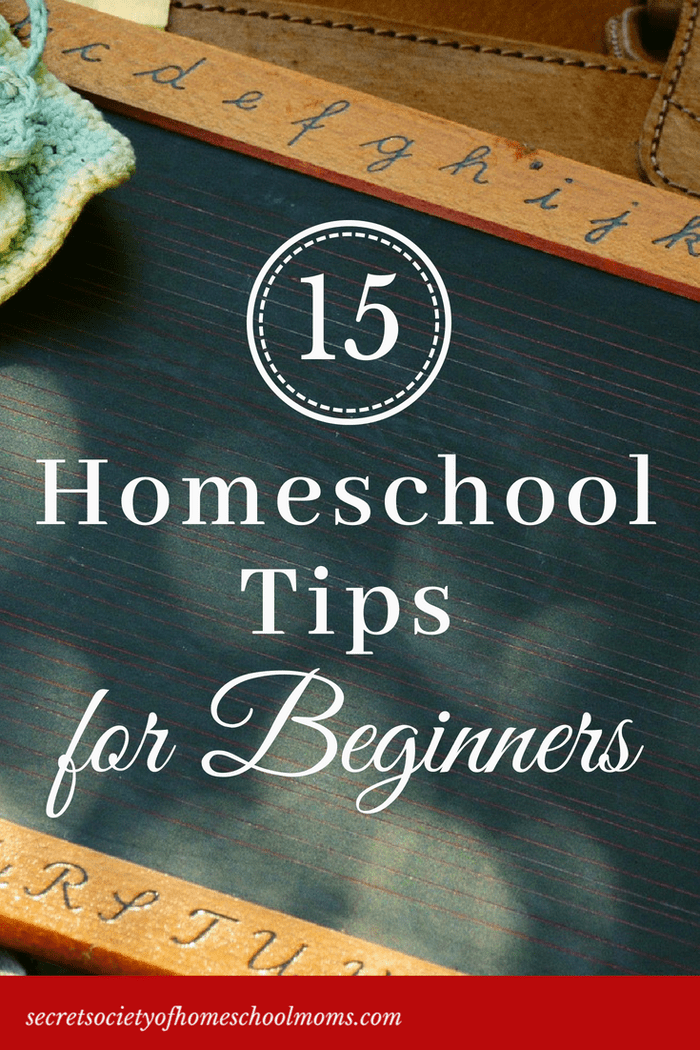 15 Tips for Setting Up Your Homeschool