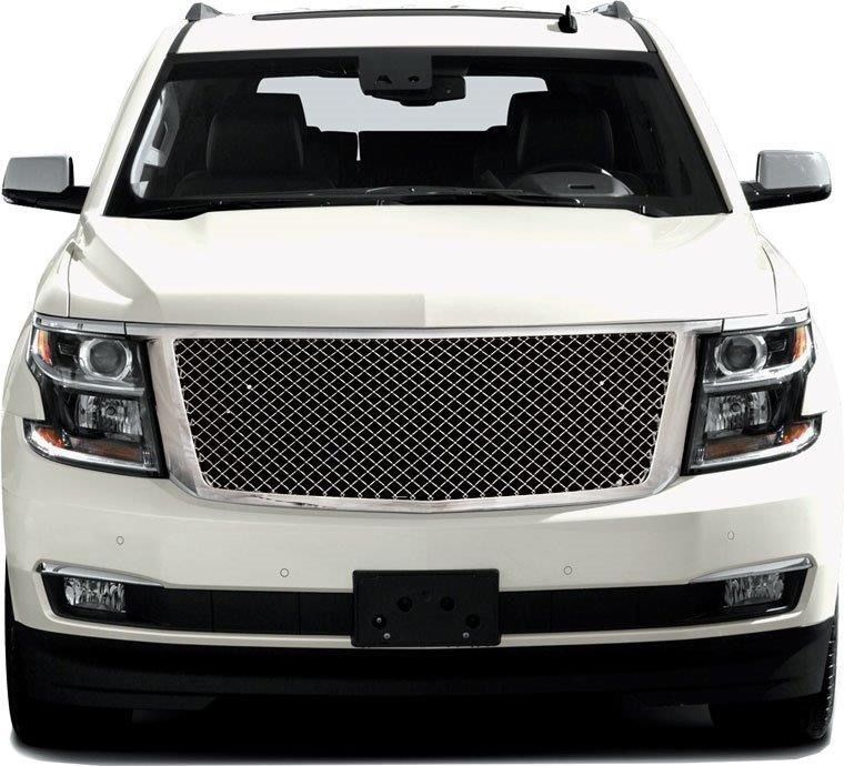 Tahoe Suburban Chrome Mesh Style Replacement Grille Grill