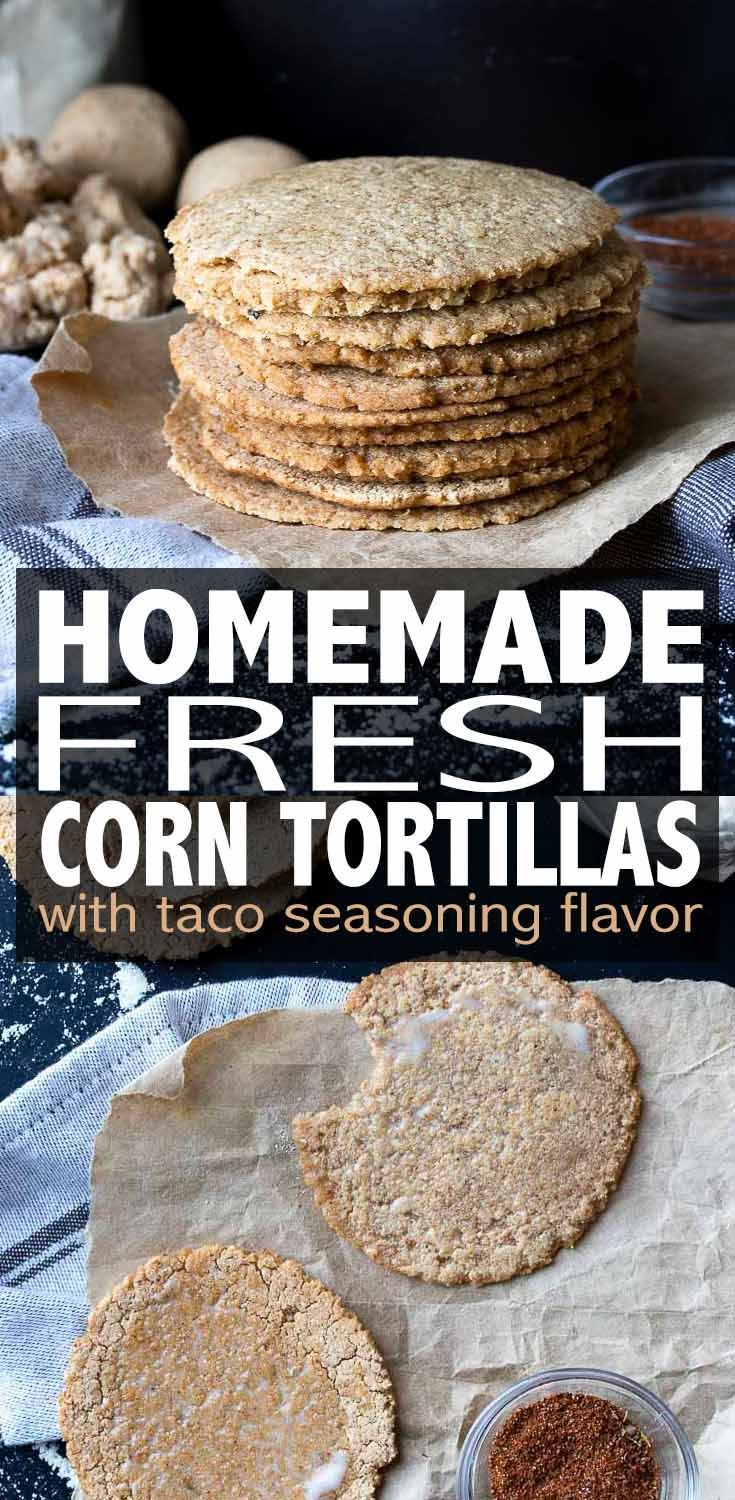 Easy Homemade Corn Tortillas With The Perfect Crisp Edge And