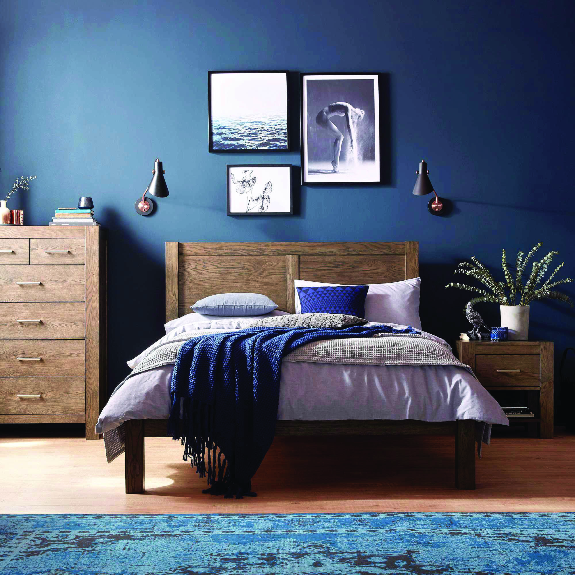 below's why you need an accent wall in your house  blue