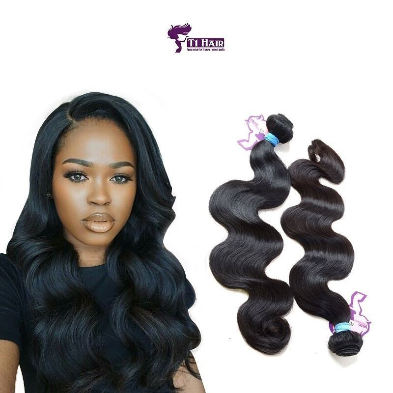 5a Top Quality Body Wave Hair Curtains 2 Piece Set At Wholesale Rate