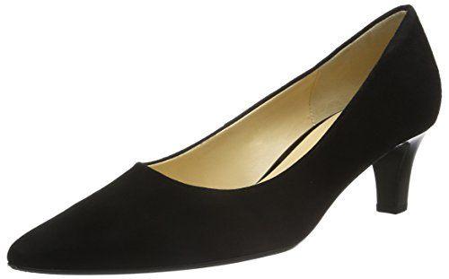 Gabor Shoes 41.250 Damen Pumps, Schwarz (17 schwarz), 35.5 EU - http
